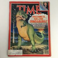 Time Magazine May 6 1985 Ronald Reagan & A New Theory About Mass Extinctions