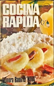 COCINA RAPIDA  - LEONORA RAMIREZ - BRUGUERA, S.A. 1977