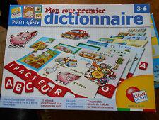 """LISCINI GIOCHI jeu éducatif mon tout 1er dictionnaire""""petit génie"""" (rare)"""