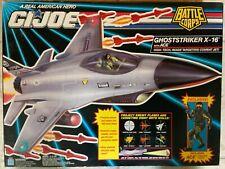 "GI Joe Battle Corps Ghoststriker X-16 with Ace 3.75"" Hasbro 1992 New SEALED MISB"