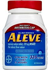 Aleve Soft Grip Arthritis Pain Reliever, 220 mg 320 Tablets
