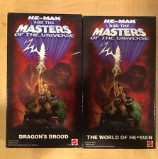 Mattel Masters of the Universe 2 VHS Video Tapes! 2000 He-Man Cartoon Movies!