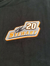 Tony Stewart #20 Embroidered Patch Racing T-Shirt Chase Authentics Men XL