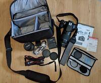 Canon EOS Rebel T6 18.0MP Digital SLR Camera  with accessories