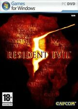 Resident evil 5/pc game/new in blister original/french version