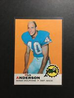 1969 Topps Set Break # 59 Dick Anderson RC Dolphins NM-MT OR BETTER Condition