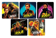 15 Solo - A Star Wars Story Movie Stickers Kid Party Goody Loot Bag Favor Supply