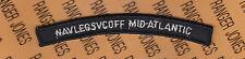 USN Navy Legal Service Office NAVLEGSVCOFF MID-ATLANTIC tab rocker arc patch