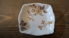 Small Antique Limoges Havilland Butter Dish Ashtray 2 7/8""