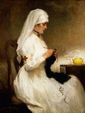 Red Cross Nurse by Gabriel Emile Nicolet Artwork by Selby Prints
