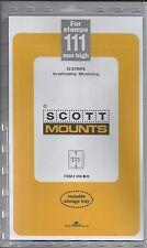 Package of 10 SCOTT BLACK Mounts 265 x 111