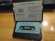 RARE PROMO Kinsey Report CASSETTE TAPE Edge Of the City sampler blues rock 1987