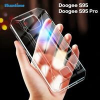 New Shockproof Slim Silicone Thin Case Soft TPU Cover Skin For Doogee S95 Pro