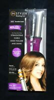 """InStyler Rotating Hot Brush Curling Iron 1 1/4"""" Barrel  (Purple, Pink or Red)"""