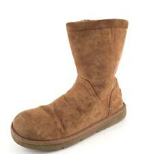 UGG Australia Roslynn 1889 Chestnut Suede Short Winter Boots Women's Size 8 M*