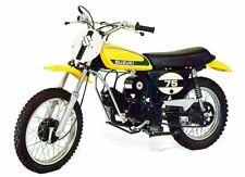 1974 SUZUKI TM-75L MINI CROSS SALES AD PHOTO