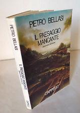 Bellasi,IL PAESAGGIO MANCANTE,1987 Cappelli[sociologia,arte,estetica,immaginario