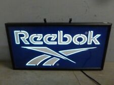 Vintage Reebok Neon Light Retail Store Display Bar Illuminated Sign Man Cave