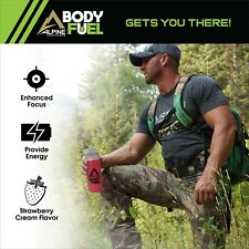 Alpine Body Fuel Focus + Energy Supplement Strawberry Cream Hydration Recovery