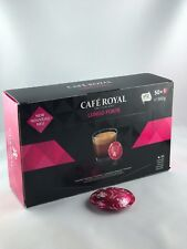 50 Lots CAFE ROYAL pour Nespresso Pro Ballerine Pads Lungo Forte 5,33 €/100gr