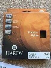 Hardy Premium Floating DT#5 Fly Line Olive River Stream Small water Mayfly FREEP
