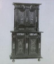 French Renaissance Furniture, Magic Lantern Glass Slide