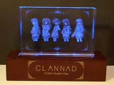 Clannad Special Relief Crystal with LED Base set official Sofmap Limited Bonus
