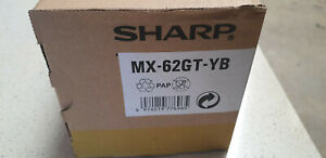 Genuine Sharp MX62GT YB  Yellow Toner Cartridge ,  Sharp MX-6240N, MX-7040N