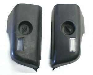 BMW OEM E36 CONVERTIBLE TAIL LIGHT TRUNK COVER SET LEFT RIGHT VERT COVERS PAIR