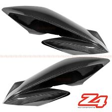 2018 GSX-S750 GSX-S750Z Upper Side Mid Radiator Cover Fairing Cowl Carbon Fiber