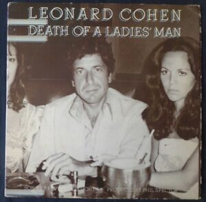 Leonard Cohen Death Of A Ladies Man 1977 UK vinyl LP album G/fold sleev CBS86042