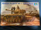 1/35 Trumpeter German Pz.Kpfm KV-1 756(r) Tank partially built