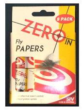 FLY Paper 8 Pack economicamente efficace controllo insetti controllo calo FLY Adesivi