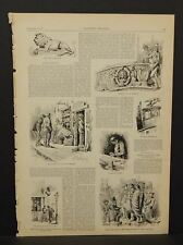 Harper's Weekly One pg Wood Working Any Various Other Sketches 1883 A8#44