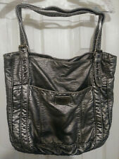 Red By Marc Ecko: Women's  Silver & Red Leather Smithville Shoulder Handbag