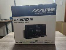 Alpine ILX-207SXM 7-Inch 2-Din Digital Media Bluetooth Receiver with SiriusXM