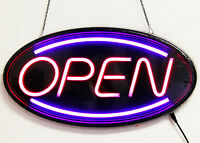NEON LED Light Animated Motion with ON/OFF OPEN Business Sign Super Bright LN201