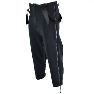 US army pants thermal black Extreme cold weather trousers Polartec overall NEW