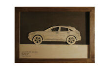 Car Wood Picture With Infiniti FX QX70 3D Image Frame Home Wall Decor Car Art