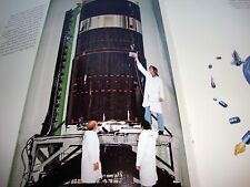 Hughes Satellite HS 376 Communications Satellite Press Packet With Photos