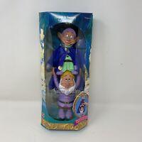 Vintage Disney SNOW WHITE 7 Seven Dwarfs Dopey Sneezy Doll Mattel Stackable 1992