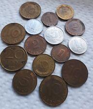 Raro lote monedas Alemania República Federal Pfenning