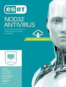 ESET NOD32 Antivirus 2021 - 1 to 2 years for 1 to 3 devices (License key)