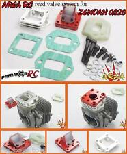 1/5 Zenoah G320 REED Valve System Silver by Area RC fit G320RC Engine Rovan R320