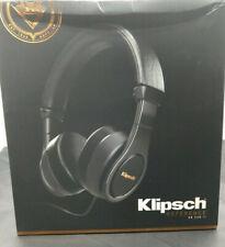 Klipsch Reference On Ear II Headphones Black w/ Case #1063115 Sealed Box SAVE