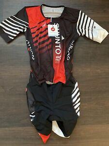 Castelli Free Tri San Remo Suit  2XL XXL short sleeve triathlon