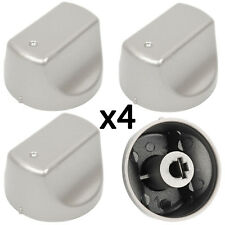 HOTPOINT-ARISTON Hot-Ari ix PH Genuine Oven Hob Control Switch Knob Silver x 4