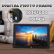 10 Inch WIFI HD Digital Photo Album Frame Video Player Remote Control US Plug DR