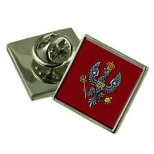 Army The King'S Royal Hussars Silver 925 Badge