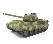 US Stock Fast Free 1/16 HengLong Plastic Ver German King Tiger RTR RC Tank 3888A